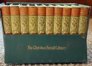 Christian Herald Library 10 Volumes Complete 1897 In Case