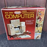 Vintage 1970's Ric 920 Skilcraft Rock Identification Computer Complete In Box