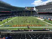 Five Giants V Chicago Bears Tickets 1/02 Noon Soldier Field Section 252 Row 16