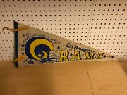 Los Angeles Rams 1970s Nfl Football Full Size Pennant