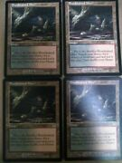Bloodstained Mire Onslaught X4 Playset Mtg Magic Rare Land Mountain Swamp Cards