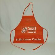 Home Depot Kids Workshop Apron - Build. Learn. Create.andnbsp Free Shipping