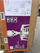 12 Ft Foot Giant Skeleton W/ Animated Lcd Eyes Halloween Prop Home Depot - New‼️