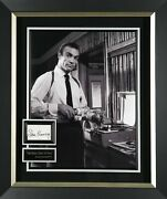 Sean Connery Autographed Vodka Martini Display