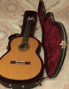 Pavan Tp30 Spruce Top Classical Guitar And Tkl Hard Shell Case.