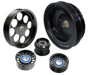 Pb-pk8033 Powerbond Power Pully Kit For Holden Commodore Gm Ls Supercharger Driv