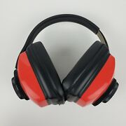 Silencio Headset Rbw-71 Red Shooting Range Ear Muff Safety Hearing Protection