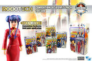 Robotech 4 Action Figure 5 Pack With Exclusive Lynn Minmei Figure - 2018 Sdcc