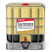 15w40 Full Synthetic Diesel Engine Oil - 275 Gallon Tote