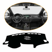 Black Car Dashboard Cover For Bmw F25 2011-2016 Dash Mats Shade Protective Pad