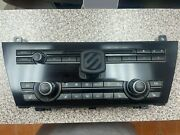 2012 - 2019 Bmw M6 F13 Front Climate Control W/cooled And Heated Seats 9324337