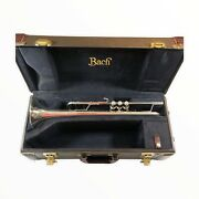 Bach Stradivarius 180s37 Trumpet With 43 Lead Pipe Gold Accessory Kit And Case
