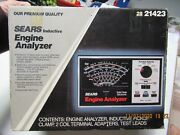 Sears Engine Analyzer 28-21423 W/ Cables Box And Manual