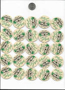 25 Pine Grove Dairy Milk Bottle Caps Skaneateles Ny Tops Farms Cow Cream Butter