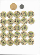 25 Dewan Dairy Milk Bottle Caps Oneida Ny Top Farms Cows Cheese Butters Tractors