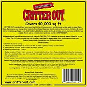 Rat, Mouse And Rodent Repellent Critter Out 1 Gallon Concentrate
