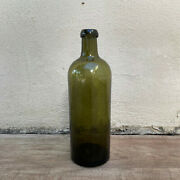 Old French Greenandnbspglass Wine Water Pastis Bottle Circa 1920 14092116