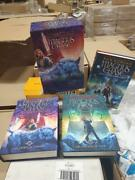 3-book Box Set Magnus Chase And The Gods Of Asgard By Rick Riordan W/dust Covers