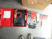 Hilti Dx-460 Mx72 And F-8 Powder Actuated Nail Gun Kit New Andcombo 1045