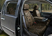 Realtree Max-5 Camo Custom Tailored Seat Covers And Dash Cover For Toyota Tundra