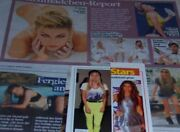 Fergie 172 Pc German Clippings Collection International Cover Josh Duhamel Bep