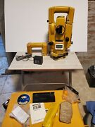 Topcon Gts-3b Surveying Station Transit Level W/ Charger Batteries Case Acc