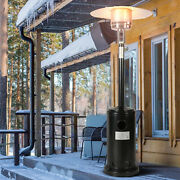 Mushroom Outdoor Propane Patio Heater W/ Rolling Wheels Free Cover Included New