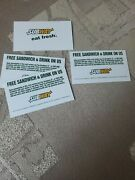 4 Subway Gift Card Voucher Free Food Combo