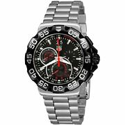 Tag Heuer Cah1010.ba0854 Formula 1 44mm Menand039s Chronograph Stainless Steel Watch