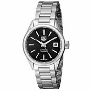 Tag Heuer War2410.ba0770 Carrera 28mm Womenand039s Automatic Stainless Steel Watch