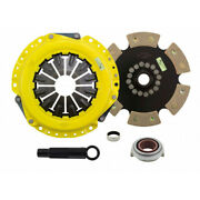 Act Clutch Kit For Acura Tsx/rsx 2002 03 04 05 06 07 2008 | Xt/race Rigid 6 Pad