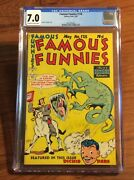 Famous Funnies 178 Cgc 7.0 Golden Age Comic 1949