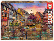 Educa Jigsaw Colma France 3000 Puzzle Adult Decompression Rare New Sealed New