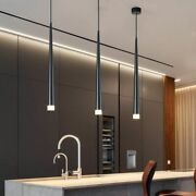 Nordic Led Chandelier Long Downlight Bar Cone Chandelier Decorative Chandelier