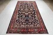 Collectible Navy Blue Tribal Area Rug 5 X 10 Soft Oriental Carpet 9and039 11 X 5and039 1
