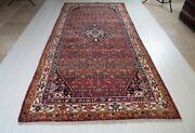11and039 5 X 5and039 4 Semi Antique Area Rug Soft 5x11 Vintage Tribal Red Wool Carpet