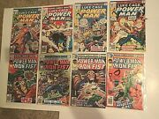 1977 Luke Cage Power Man 44-47 And Iron Fist 51-54 1st Heroes For Hire