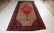 10and039 7x5and039 3 One Of A Kind Collectible Antique Tribal Rug Brown Oriental Carpet