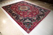 10and039 7x8and039 1 Hand-knotted Collectible Large Antique Tribal Rug Worn Carpet 8x11