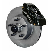 Wilwood For Ford 1954-1956 Brake Kit Forged Dynalite Front 11.28in