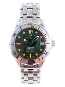 Omega Seamaster Jacques Mayol 1996 Mid Size Automatic Watch 2553.41 Serviced