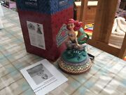 """V Rare Disney Tradition Ariel The Little Mermaid 'part Of Your World' Musical 7"""""""