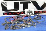 2008 2009 Polaris Ranger Crew 700 Wire Harness Positive Negative Battery Cable