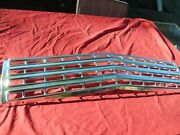 1962 Chevrolet Impala Bel Air Biscayne Ss Grille Assembly Anodized Gm