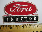 Ford Tractor Patch Agriculture Farming Seed And Feed Caterpillar Vintage Nos 60's