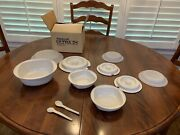 Tupperware Ultra 21 9+ Pc Set Lot Casserole Bowls Oven Microwave New In Box Usa