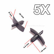 5x Weatherstrip Seal Clips For Door Gaskets, Boot And Bonnet Seals For Volvio