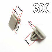 3x Rocker Panel Moulding Clips Retainer For Gm