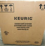 Keurig Green Mountain Keurig K4000 Cafe System Commercial K-cup Coffee New