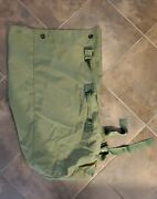 Us Military Usmc Army Navy Surplus Green 36 2-strap Backpack Duffel Bag Excelnt